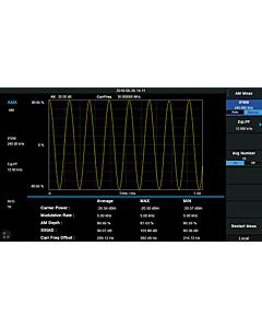 Siglent SVA1000X-AMA Analog modulasjon analyse lisens for SVA1000X Spektrum & vektor nettverksanalysator