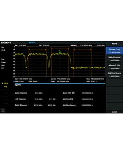 Siglent SVA1000X-AMK Utvidet / avansert Kit lisens for SVA1000X Spektrum & vektor nettverksanalysator